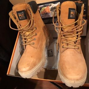 Timberland Pro Steel Toe Boots ( Size 8.5)
